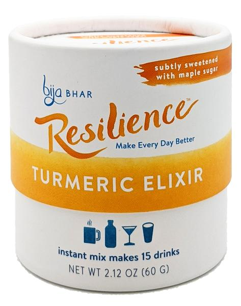 Resilience - Turmeric Elixir - Instant Mix - 15 serving canister - Grateful Produce Box