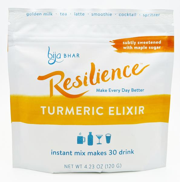 Resilience - Turmeric Elixir - Instant Mix - 30 servings - Grateful Produce Box