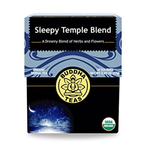 Buddha Tea - Sleepy Temple Blend (18 Tea Bags) - Grateful Produce Box