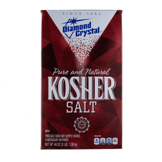 Kosher Salt - Diamond Crystal - 3 lb. Box - Grateful Produce Box
