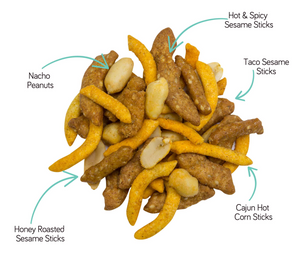 Cajun Party Snack Mix - Grateful Produce Box