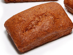 Banana Bread (Gluten Free & Vegan) - 4.4 oz. Loaf - Grateful Produce Box