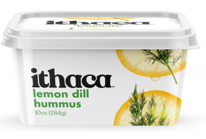 Ithaca Hummus - Lemon Dill - 10 oz. - Grateful Produce Box