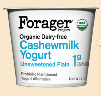 Forager's Plain Cashewgurt - 24 oz - Grateful Produce Box