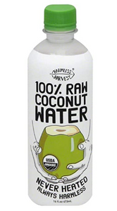 100% Raw Coconut Water - 16 oz - Grateful Produce Box