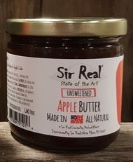 Sir Real Apple Butter - Unsweetened - 8.5 oz. - Grateful Produce Box
