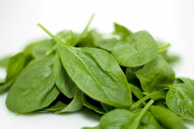 Triple Washed Spinach - 2.5 lb. Bag - Grateful Produce Box