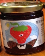 Sir Real Strawberry Jam -  9 oz. - Grateful Produce Box