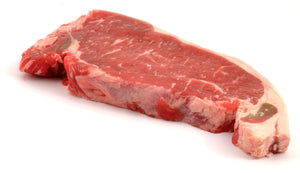 12 oz. Strip Steak - 2 Per Pack - Grateful Produce Box