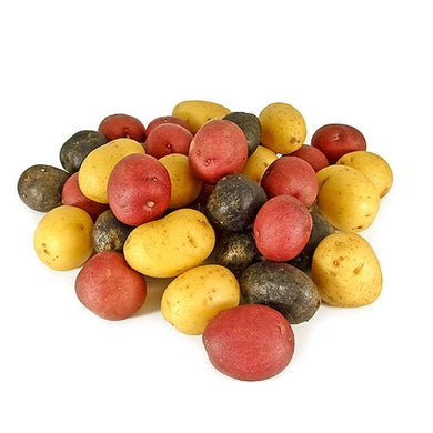 Marble Mix Fingerling Potatoes - 5 lb. Bag - Grateful Produce Box