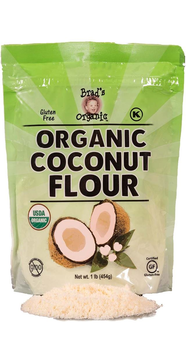 Organic Coconut Flour (Brad's) - Grateful Produce Box
