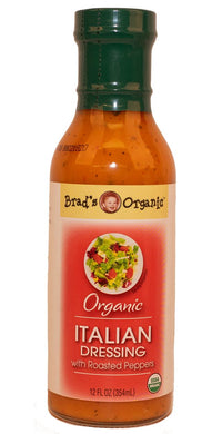 Organic Italian Dressing (Brad's) - Grateful Produce Box