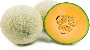 Organic Cantaloupe Melon - Grateful Produce Box
