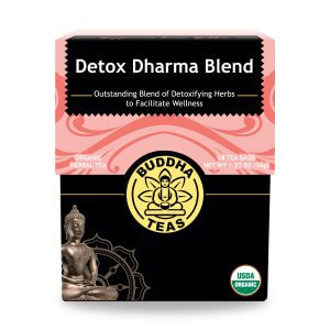 Buddha Tea - Detox Dharma Blend (18 Tea Bags) - Grateful Produce Box