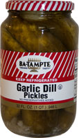 Garlic Dill Pickles - Ba Tampte - Grateful Produce Box