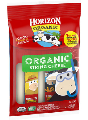 Horizon Mozzarella Cheese Sticks - 6 oz - Grateful Produce Box