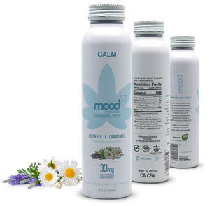 MOOD 33 Calm - Lavender & Chamomile - 12 oz - Grateful Produce Box