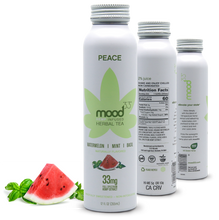 Load image into Gallery viewer, MOOD 33 Peace - Watermelon, Mint, Basil - 12 oz - Grateful Produce Box