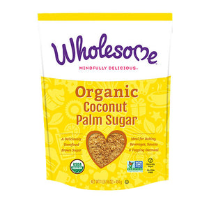 Coconut Sugar (Wholesome) 1lb - Grateful Produce Box