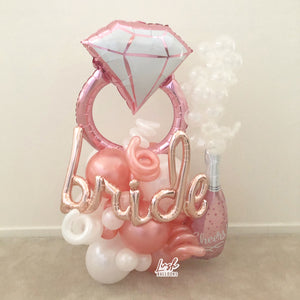 Diamond Ring | Bride to Be Bouquet 💍