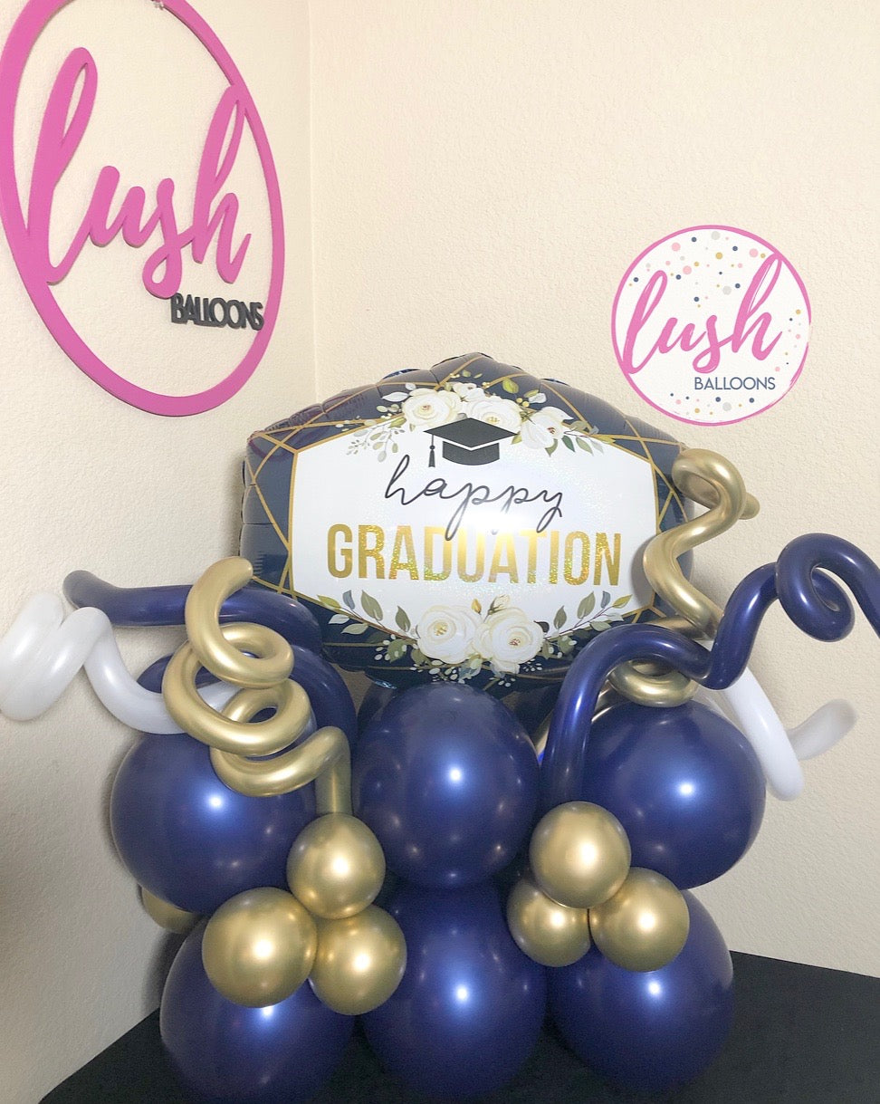 Happy Graduation Balloon Bouquet