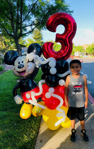 MEGA Mickey Mouse Balloon Bouquet