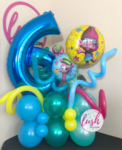 Trolls Balloon Bouquet