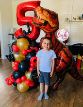 Load image into Gallery viewer, MEGA T-Rex Dinosaur Balloon Bouquet 🦖