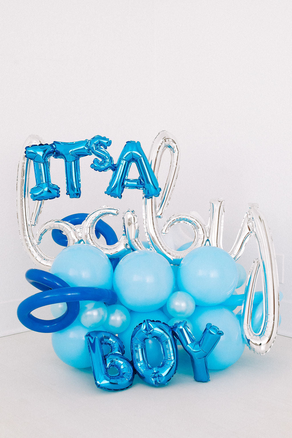 It's a Baby BOY Balloon Bouquet | Welcoming Baby