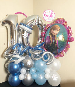 Disney's Frozen Inspired Balloon Bouquet