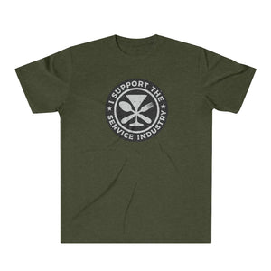 At Your Service Unisex Tri-Blend T-Shirt