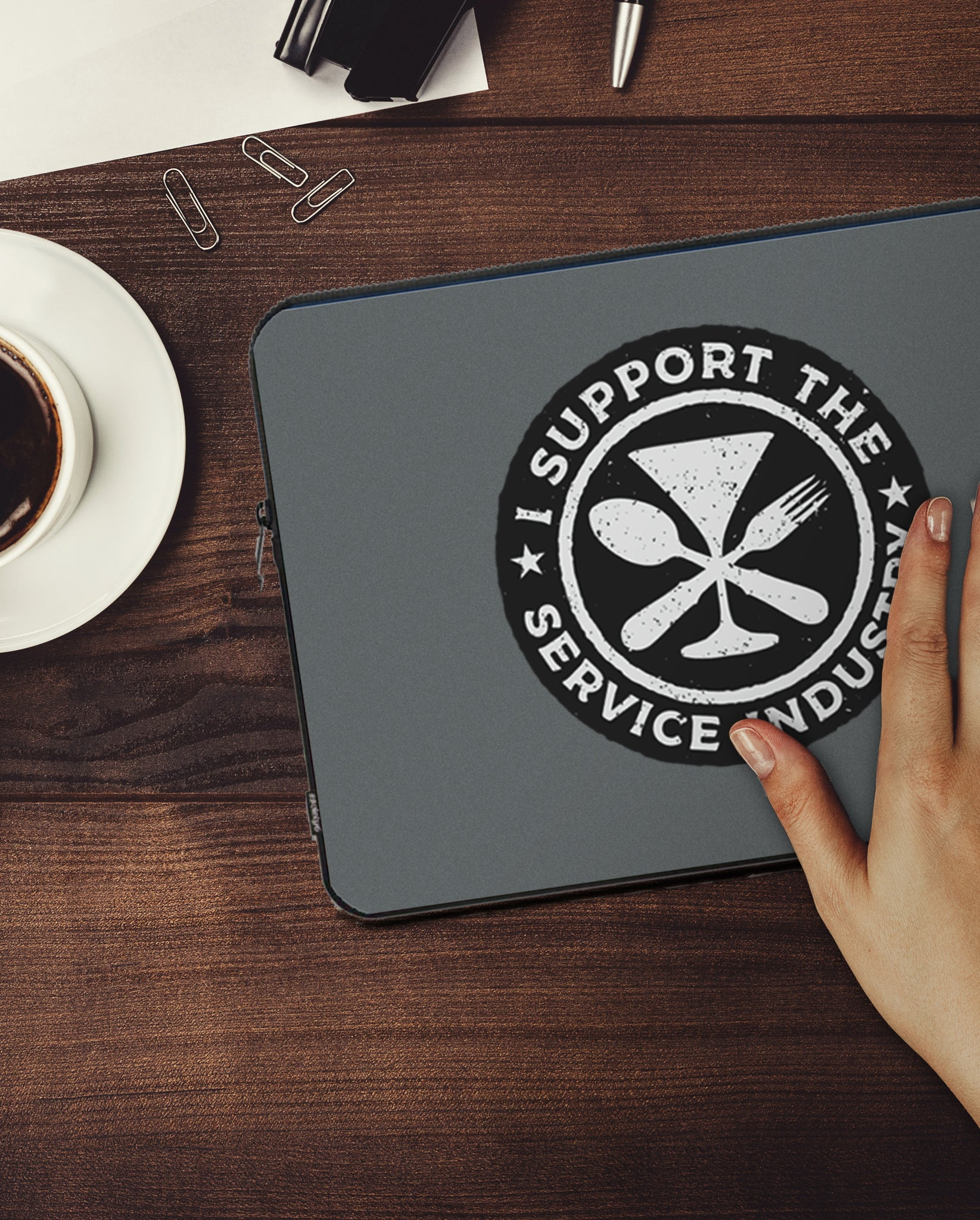 At Your Service Laptop Sleeve