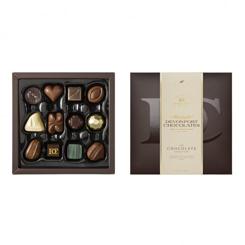 Devonport Chocolates - Assortment, 12 Pieces, The Chocolate Selection