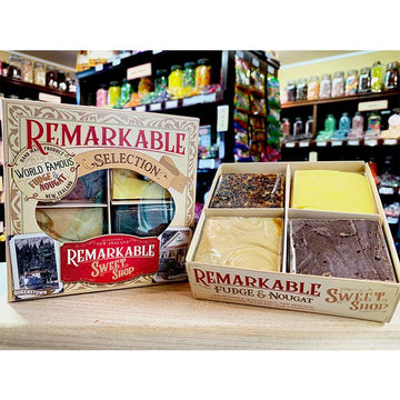 Remarkable Sweet Shop - 4 Piece Fudge Gift Box