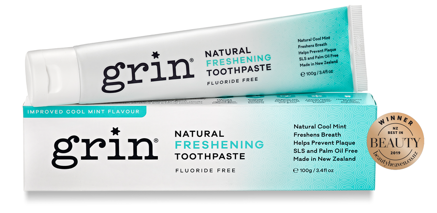 Grin - Freshening (Previously Cool Mint) 100% Natural Toothpaste