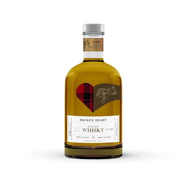 Broken Heart Spiced Whisky 500ml