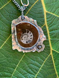 Janus Fossil Necklace