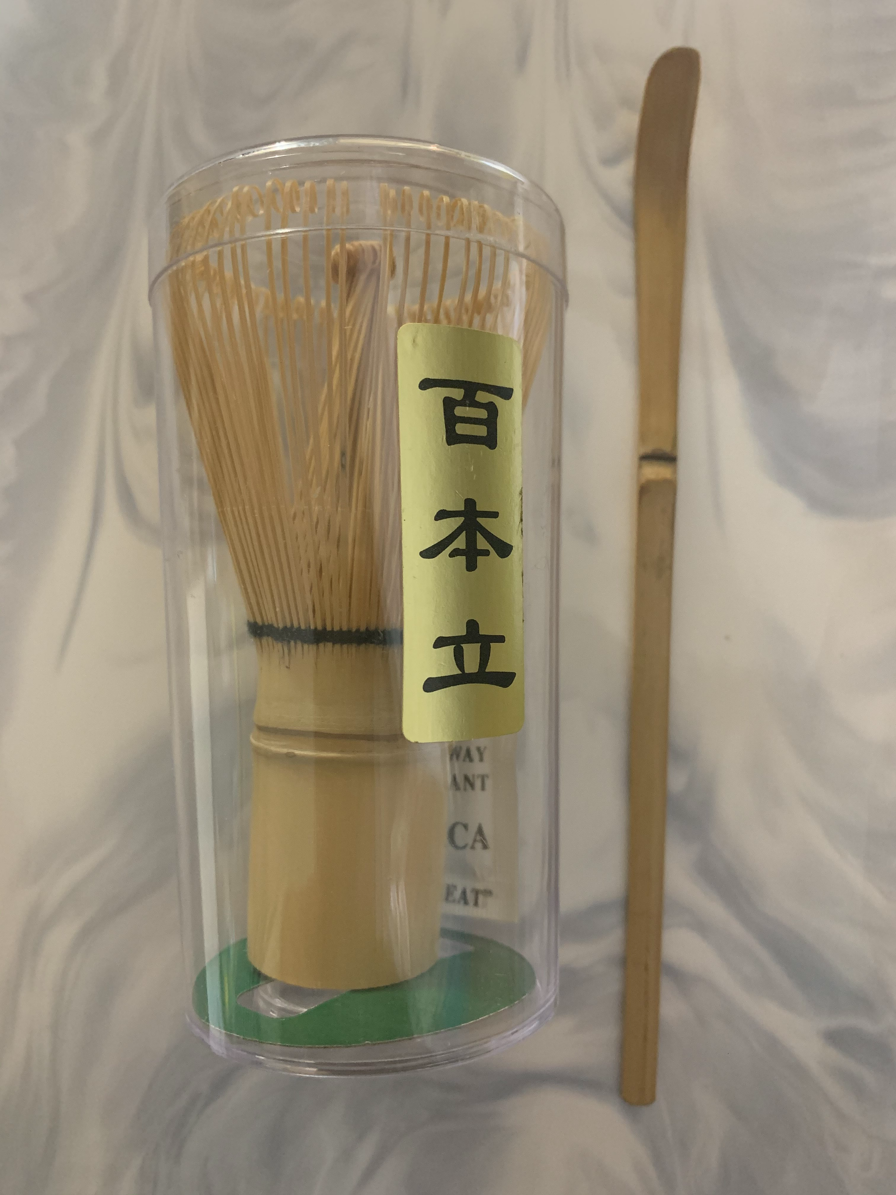 Matcha Whisk (Bamboo) & Scoop (Bamboo)