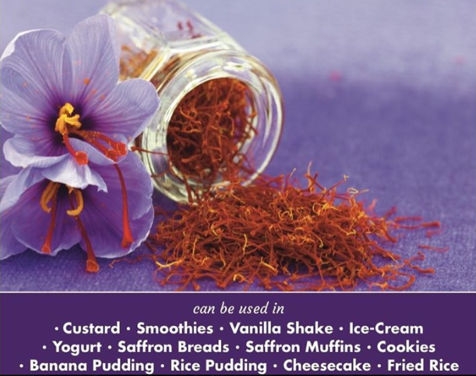 Spanish Saffron Threads- Premium Quality, 1 g