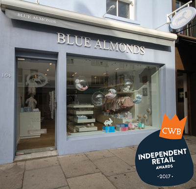 Blue Almonds 'Best Baby Store' in CWB Independent Retail Awards 2017
