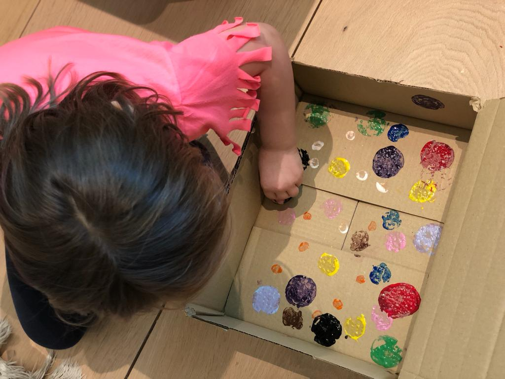 Family Activities: Compost Kids Yayoi Kusama art plan