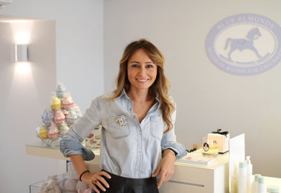 Twenty Questions with Iza Minkiewicz, Owner of Blue Almonds