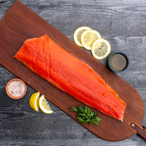 Wilder Box Iliamna Sockeye Salmon fillet