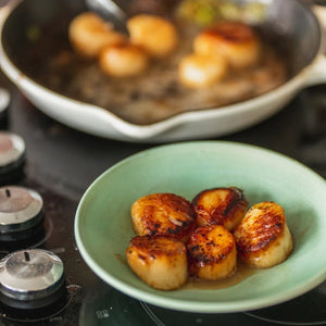 Large Wild Maine Scallops, Dry Packed