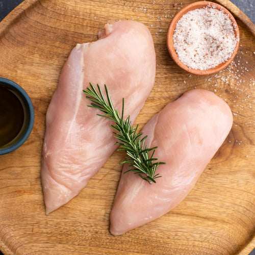 Organic chicken breast from Wilder Box