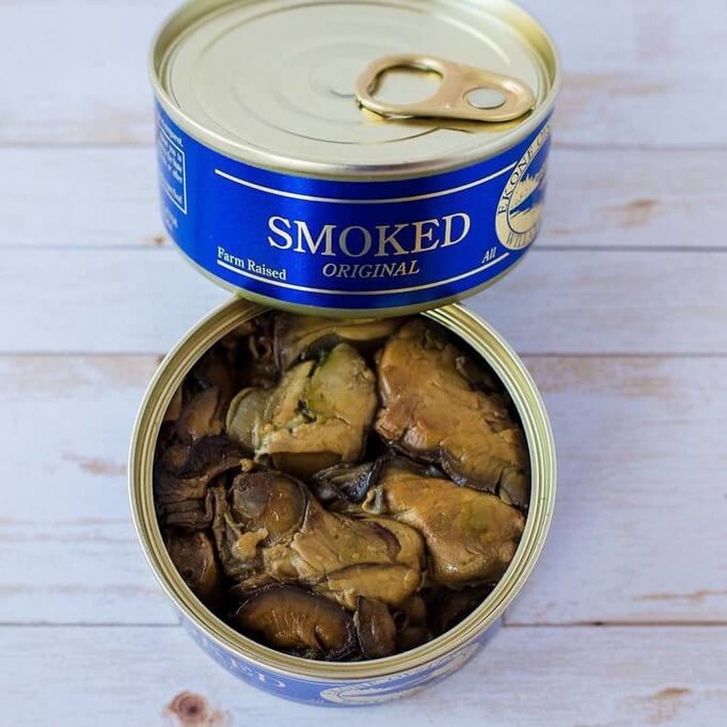 Smoked Oysters  3oz can