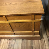 Storage Chest Wood Plank - Redecorate Consignment