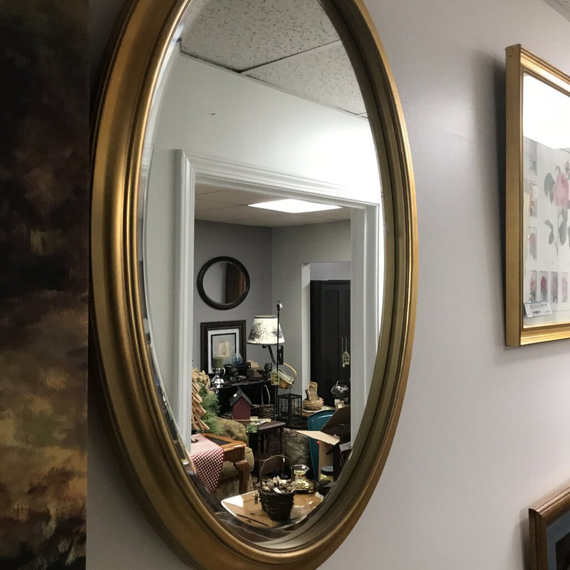Gold Mirror - Redecorate Consignment
