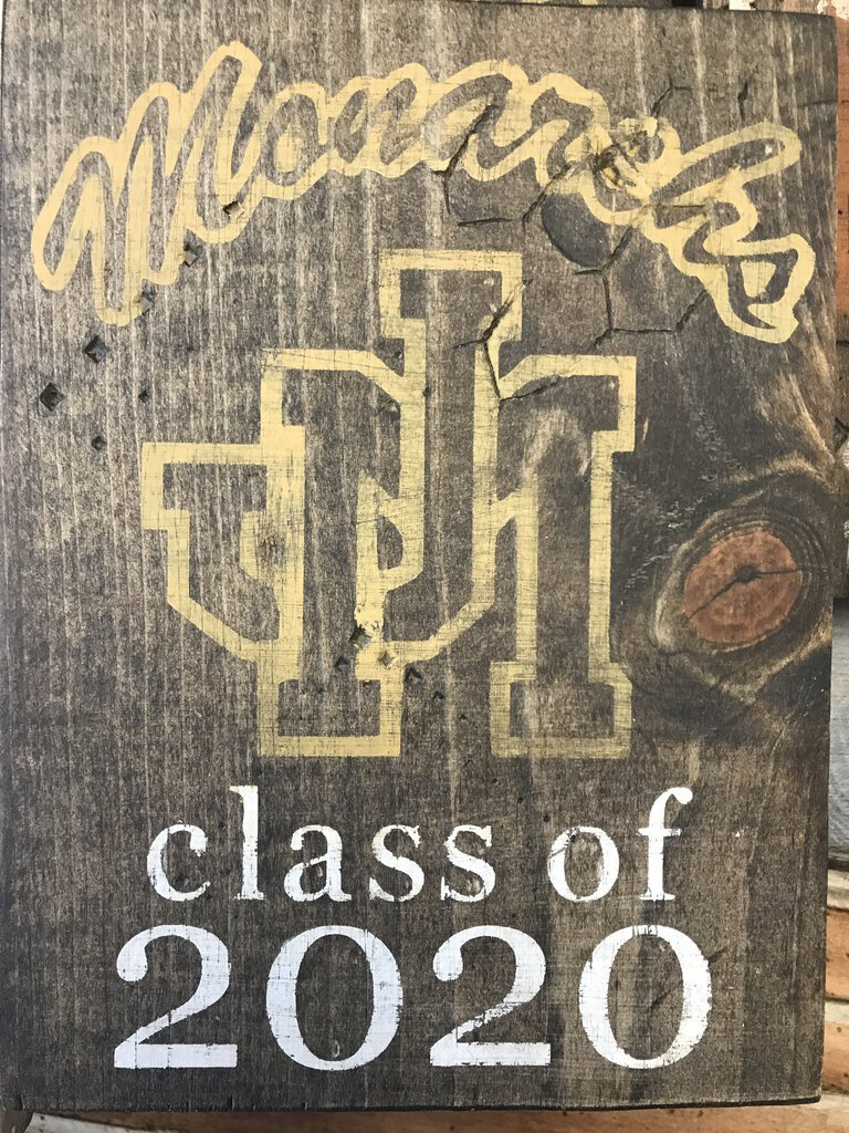 John Marshall Senior plaque - Priced Each - Redecorate Consignment