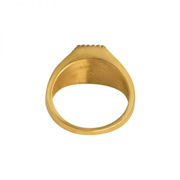 Gold Palm Tree Ring